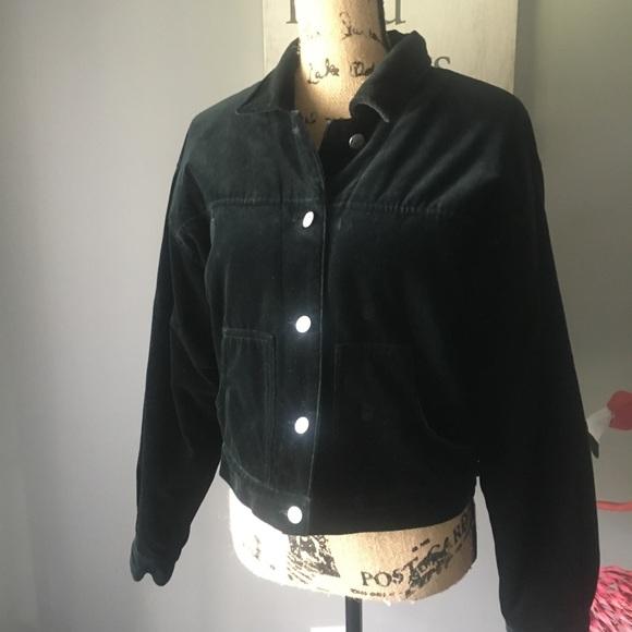 The Gap Jackets & Blazers - Gap Woman's black velvet jacket.